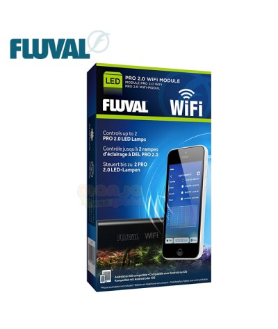 Fluval Pro 2.0 LED WiFi Module Controller A3976 Controls 2 Lamp Light Fixtures