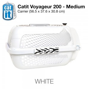 Catit Voyageur 200/ Pet Carrier, IATA Approved Pet Carrier,- Medium (56.5L x 37.6W x 30.8H cm)