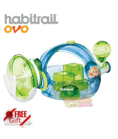 New Habitrail Ovo Home Blue