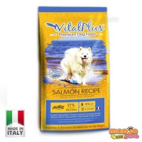 (WEEKEND PROMO) VitalPlus Salmon Premium Dog Food 20kg [MADE IN ITALY]