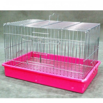 Small Animal Chrome Cage