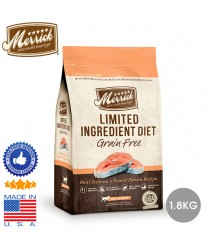 Merrick Grain Free Limited Ingredient Salmon 4lb (1.8kg)