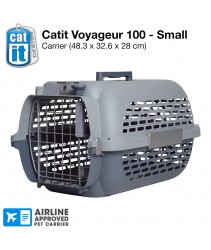 Catit Profile Voyageur Model 100 Cat Carrier - Cool Grey