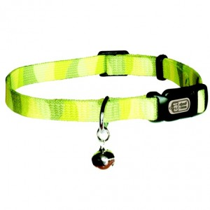 Catit Style Adjustable Nylon Cat Collar 20-33cm Jungle Stripe