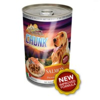 12 can mix Alps Dog Chunks Salmon and Lamb can 1230g
