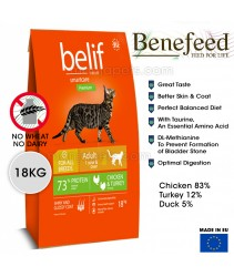 New Belif / Benefeed Feline Chicken & Turkey Cat Food 18KG