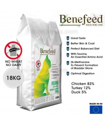 Benefeed Feline Chicken & Turkey Cat Food 18KG (MADE In EU)