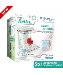 New Marina Betta EZ Care Plus Aquarium Kit - White - 5 L (1.35 US gal)