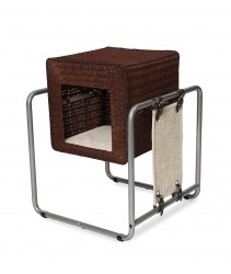 Vesper Cat Furniture, V-Cube, Rattan(52 x 52 x 63cm)