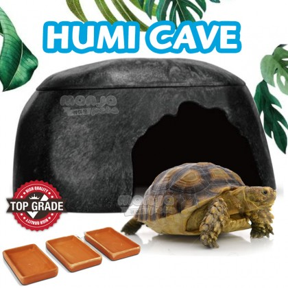 H-STUDIO Humid Cave for Tortise Humidifier Turtle Lizard Tortoise Snake Leopard Gecko Ball Python(Large)