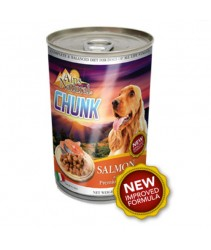 5 can mix Alps Dog Chunks Salmon 1230g