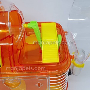 Dayang Pedometer Gym Cage for Hamster Cage with Meter - Fun to Pay Simple Assembling